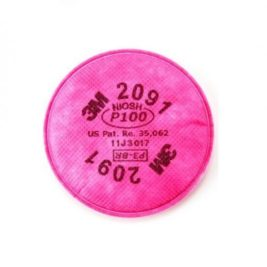 FILTRO 3M PARA PARTÍCULAS 2091 NIOSH P100