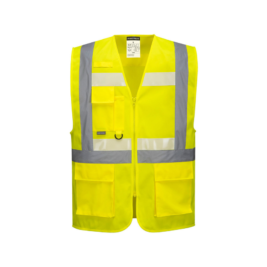 CHALECO GLOWTEX EZEE ZIP EXECUTIVE – PORTWEST