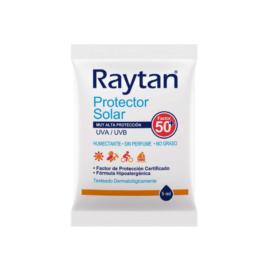 PROTECTOR SOLAR RAYTAN F50 – SACHET 5ML (CAJA 40 UND)