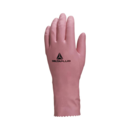 GUANTE LATEX FLOCADO ROSADO – ZEPHIR VE210
